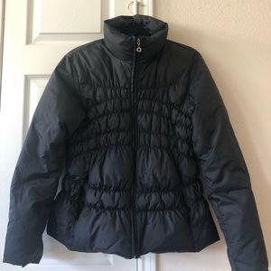 Ladies black puffer jacket